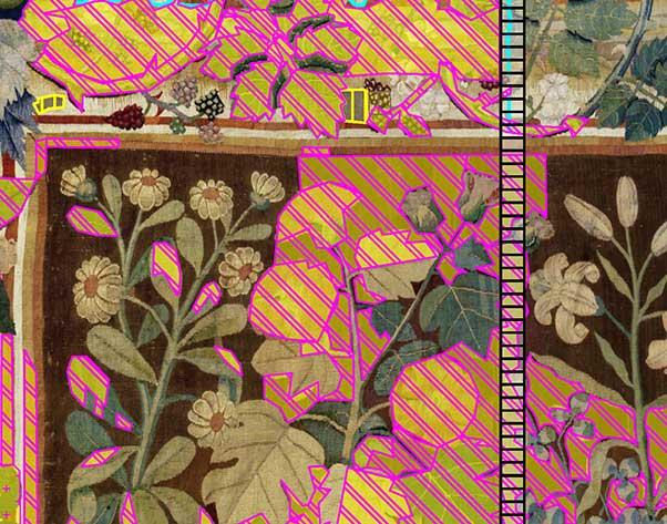 Textilrestaurierung.net Christine Supianek-Chassay Digitale Kartierung