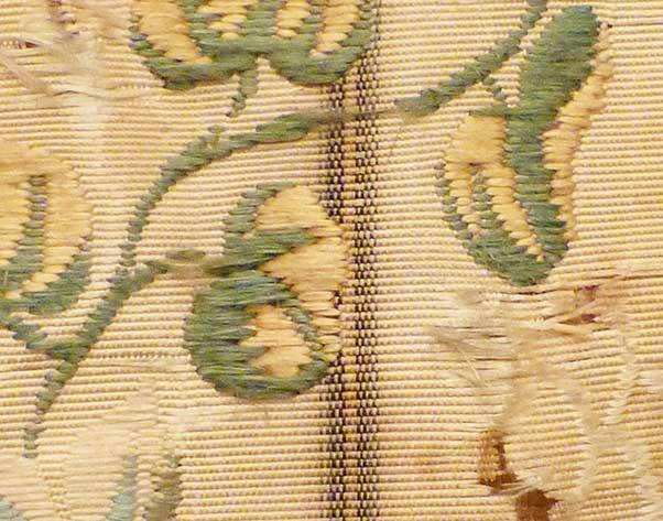 Textilrestaurierung.net Christine Supianek-Chassay Gewebeanalyse