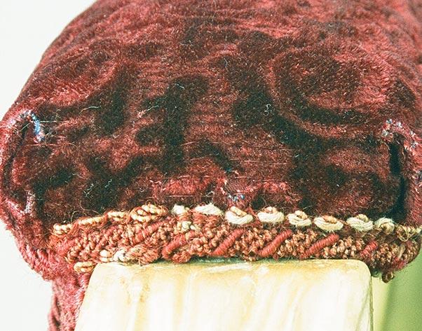 Textilrestaurierung.net Christine Supianek-Chassay Schreibtischsessel